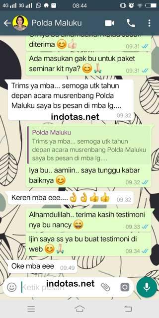 Seminar Kit Polda Maluku Indotas.net